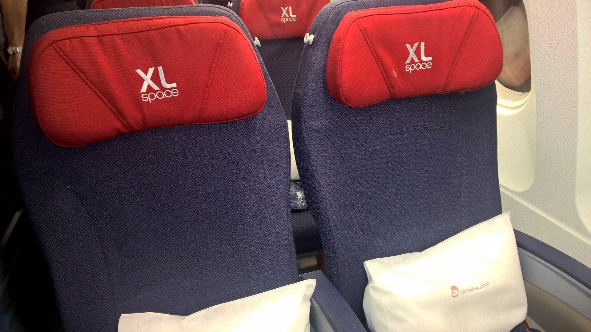 airberlin Economy Class XL Seats