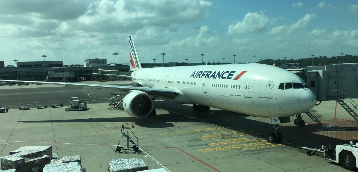 Air France Boeing777
