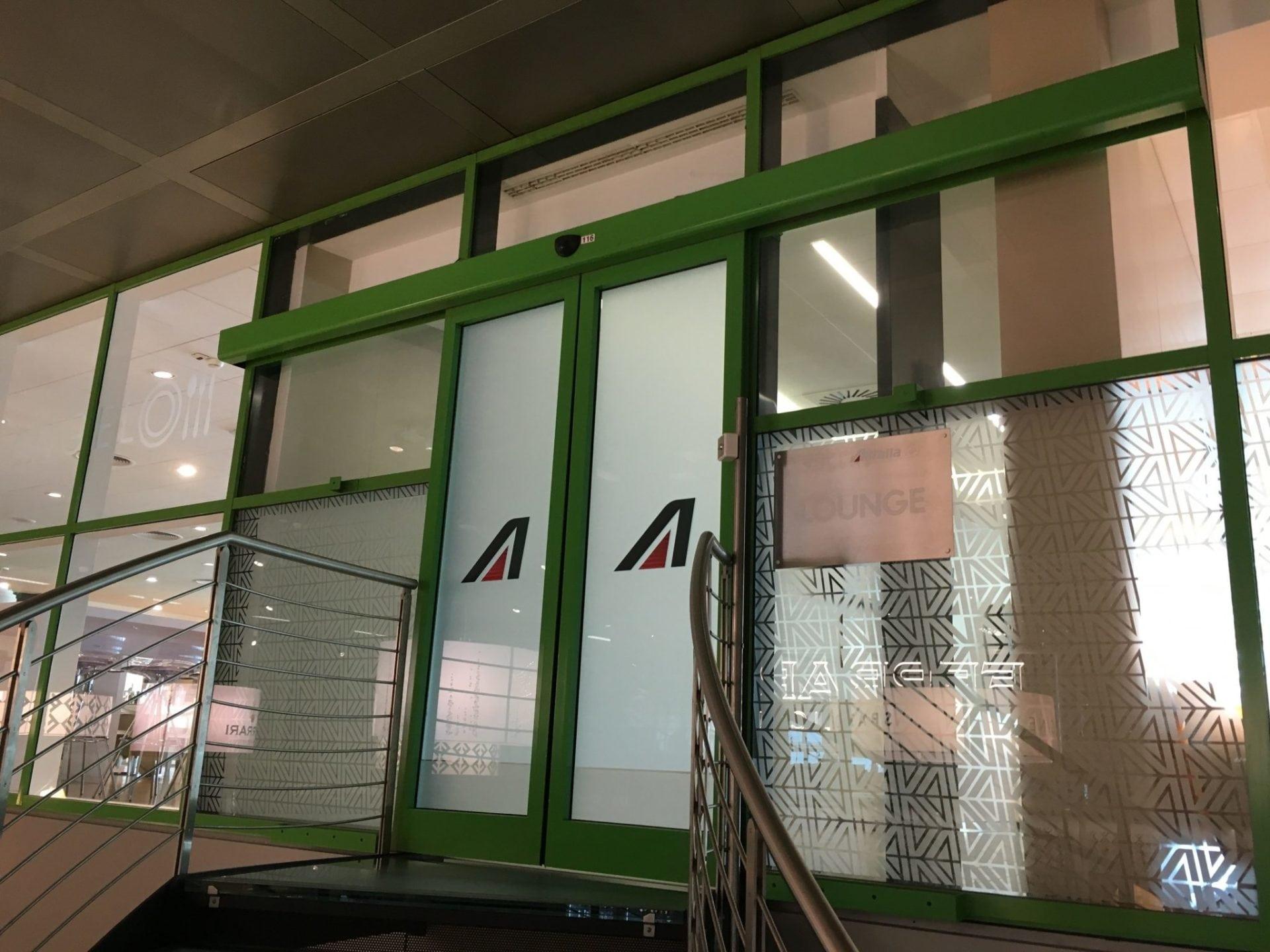Alitalia Lounge Mailand Linate-1