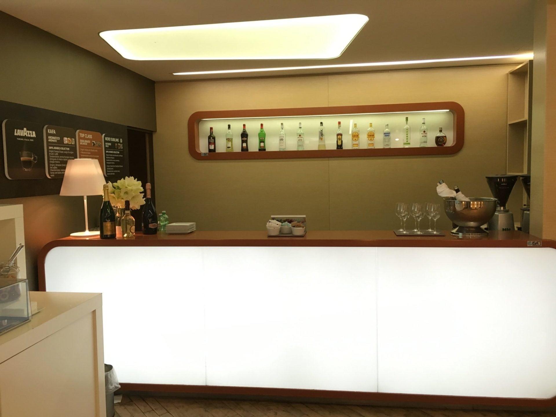 Alitalia Lounge Mailand Linate-10