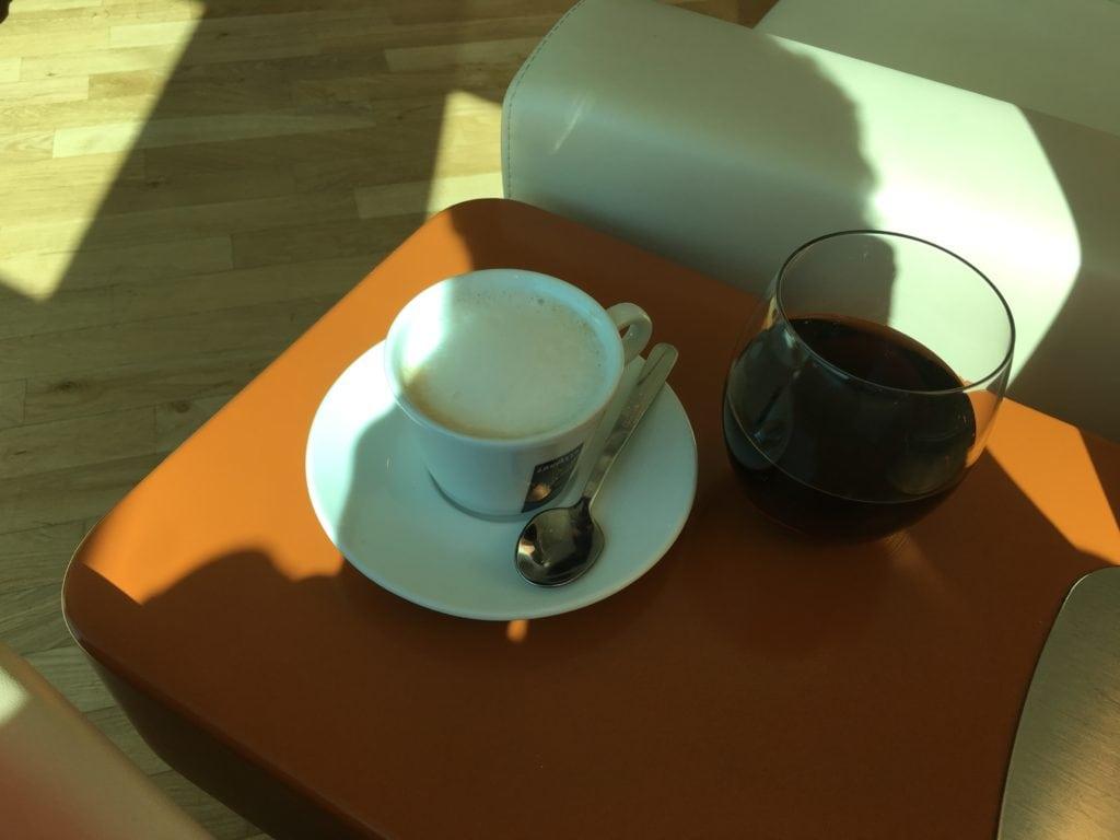 Alitalia Lounge Mailand Linate 3