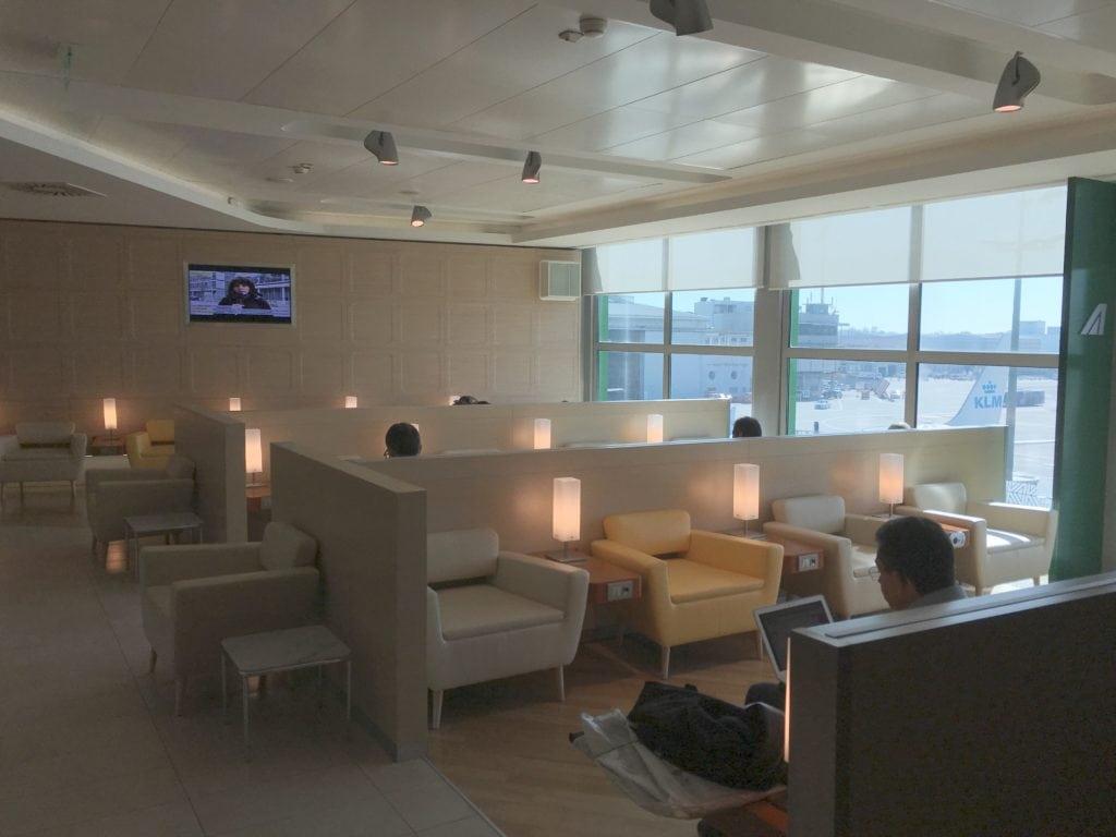Alitalia Lounge Mailand Linate