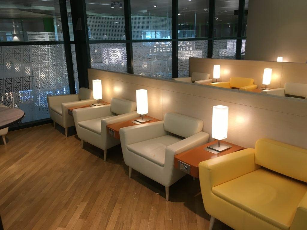 Alitalia Lounge Mailand Linate 7