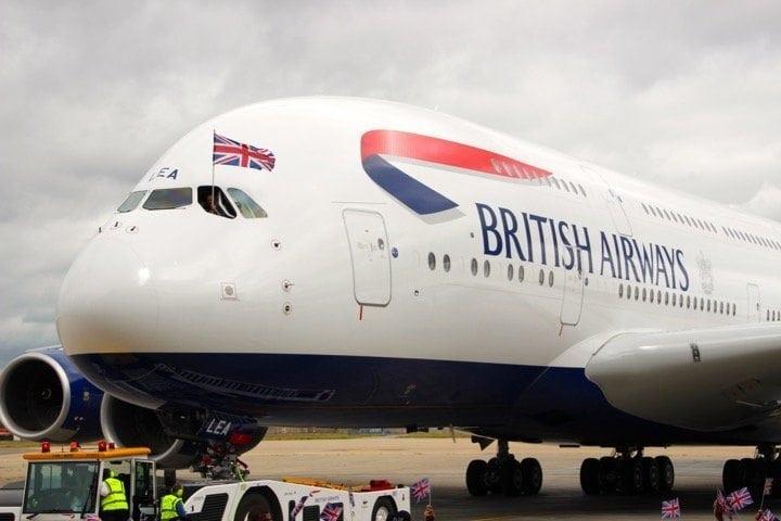 BA A380 Plane - 1