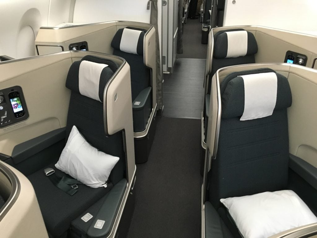 Cathay Pacific Busienss Class