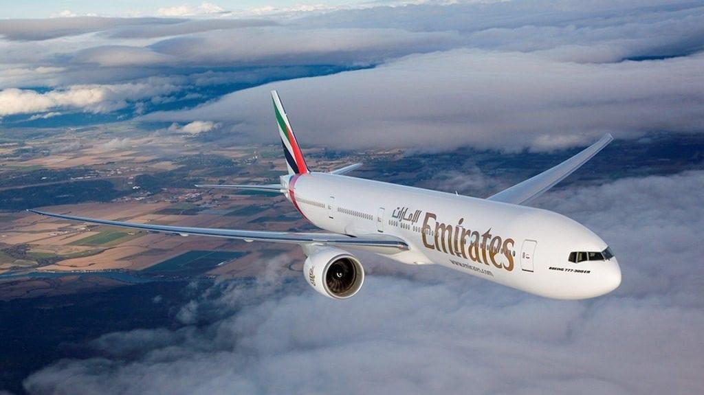 emirates boeing 777 300 er capetown