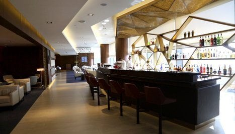 Etihad First Class Lounge Spa 11