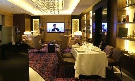 Etihad First Class Lounge Spa 12