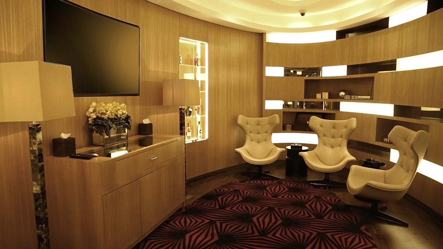 Etihad First Class Lounge Spa 16