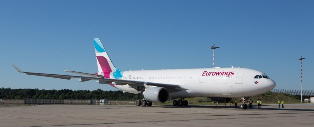 Eurowings A330 leassing wet lease