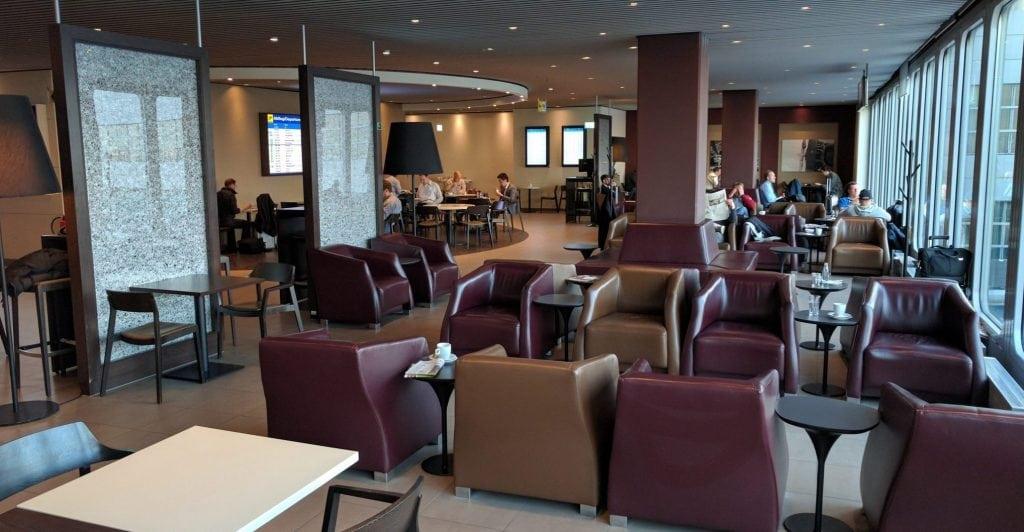Hugo Junkers Lounge Düsseldorf Sitzgelegenheiten