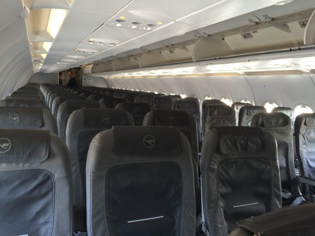 Lufthansa Economy Class auf der Kurzstrecke