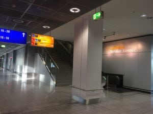Lufthansa Senator Lounge Terminal 1 C Eingang
