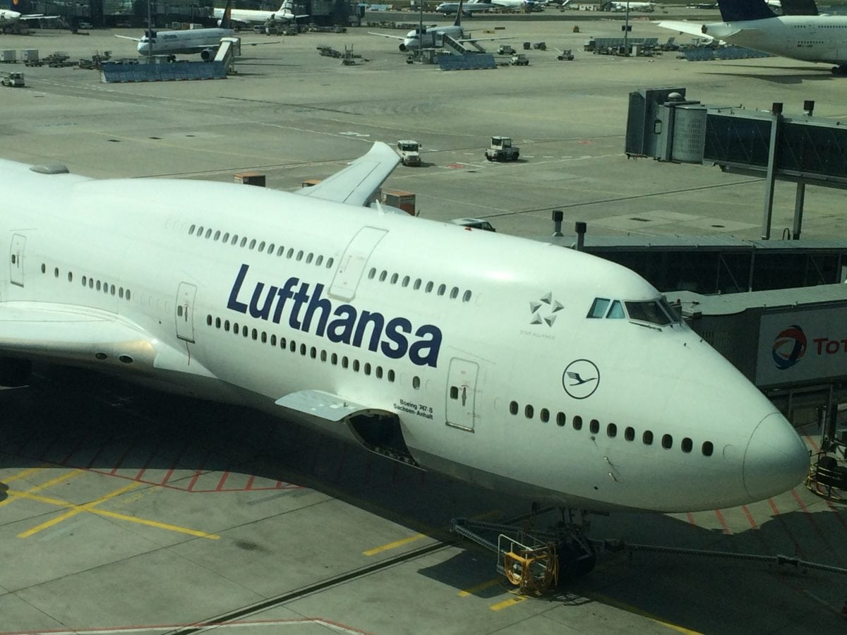 Lufthansa 747 8