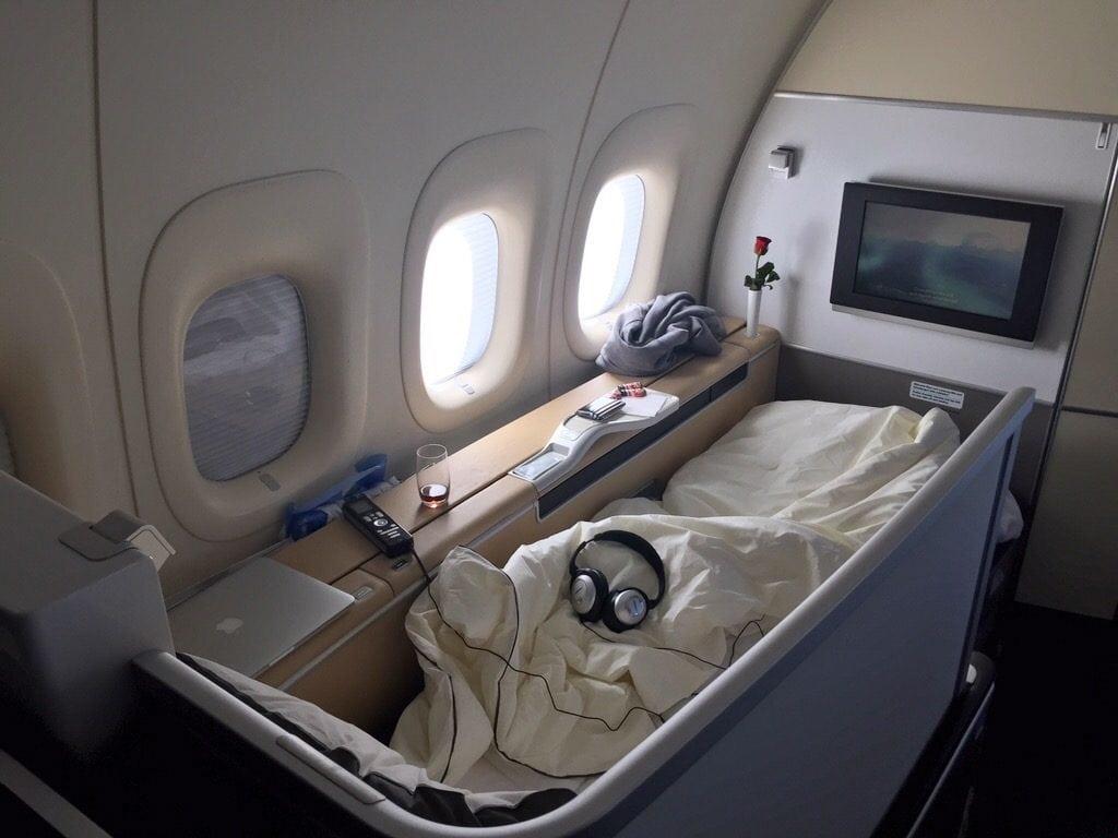 Lufthansa First Class Bett – 1