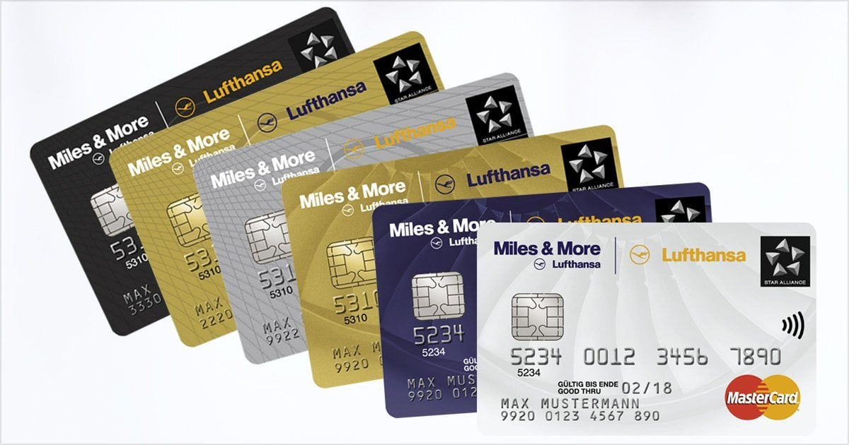 Lufthansa Miles and More Kreditkarte