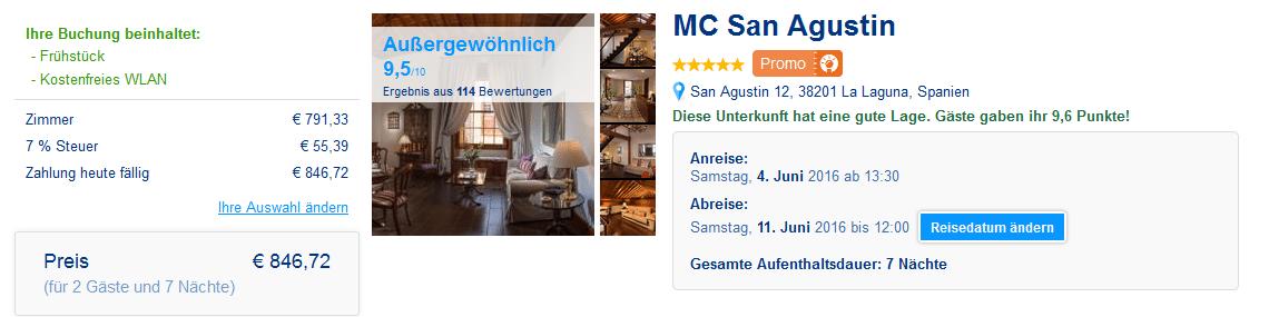 MC San Agustin Teneriffa