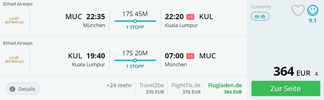 München Kuala Lumpur