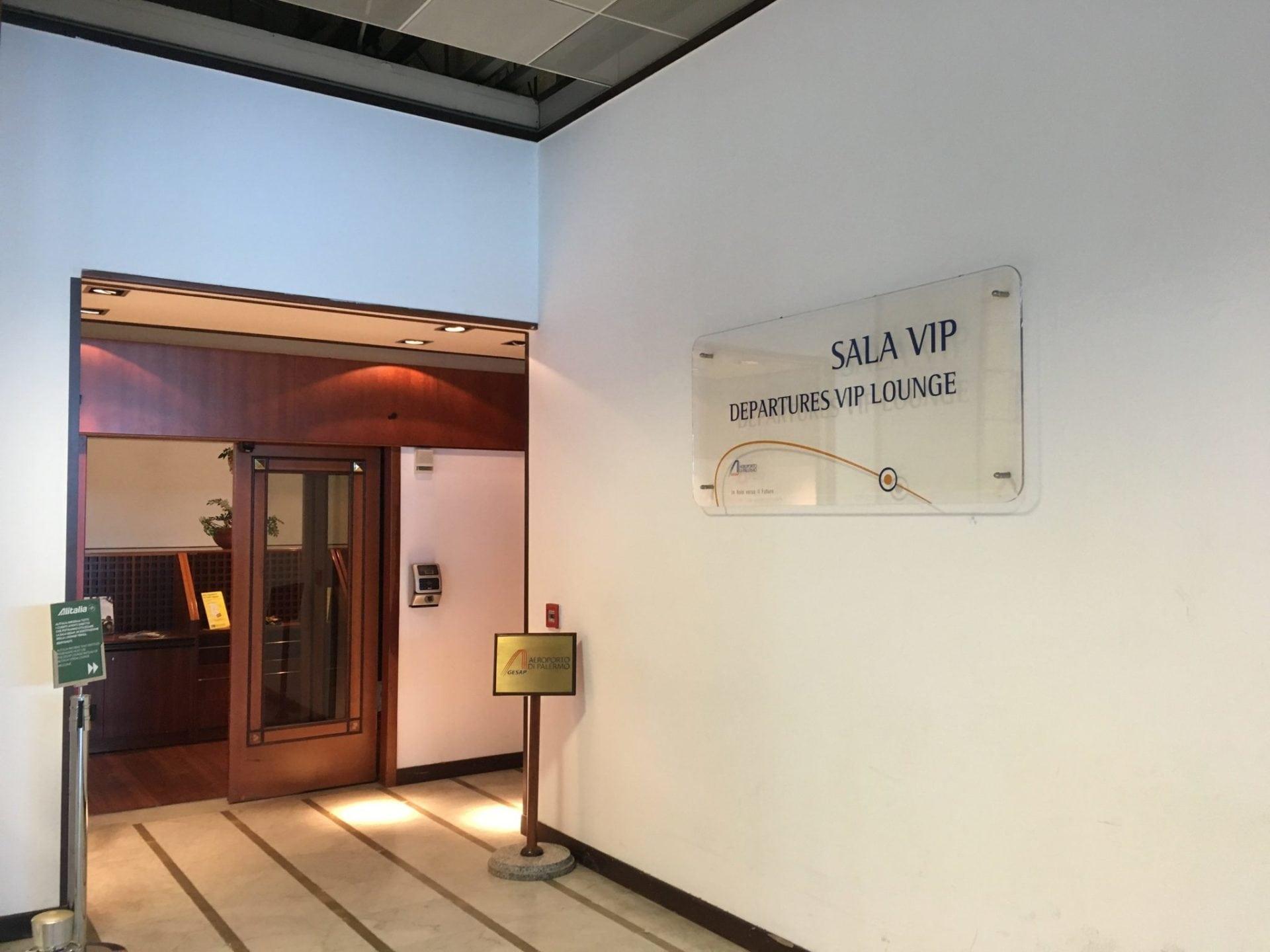 Sala VIP Lounge Palermo Airport-11