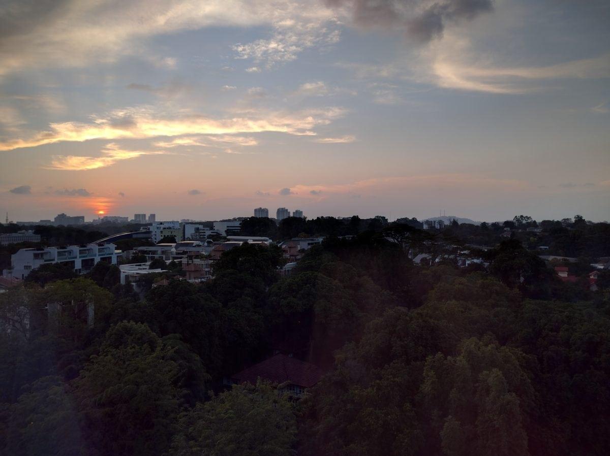 St. Regis Singapore Aussicht