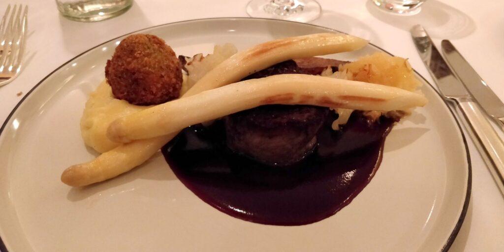 Grand Hyatt Berlin Abendessen