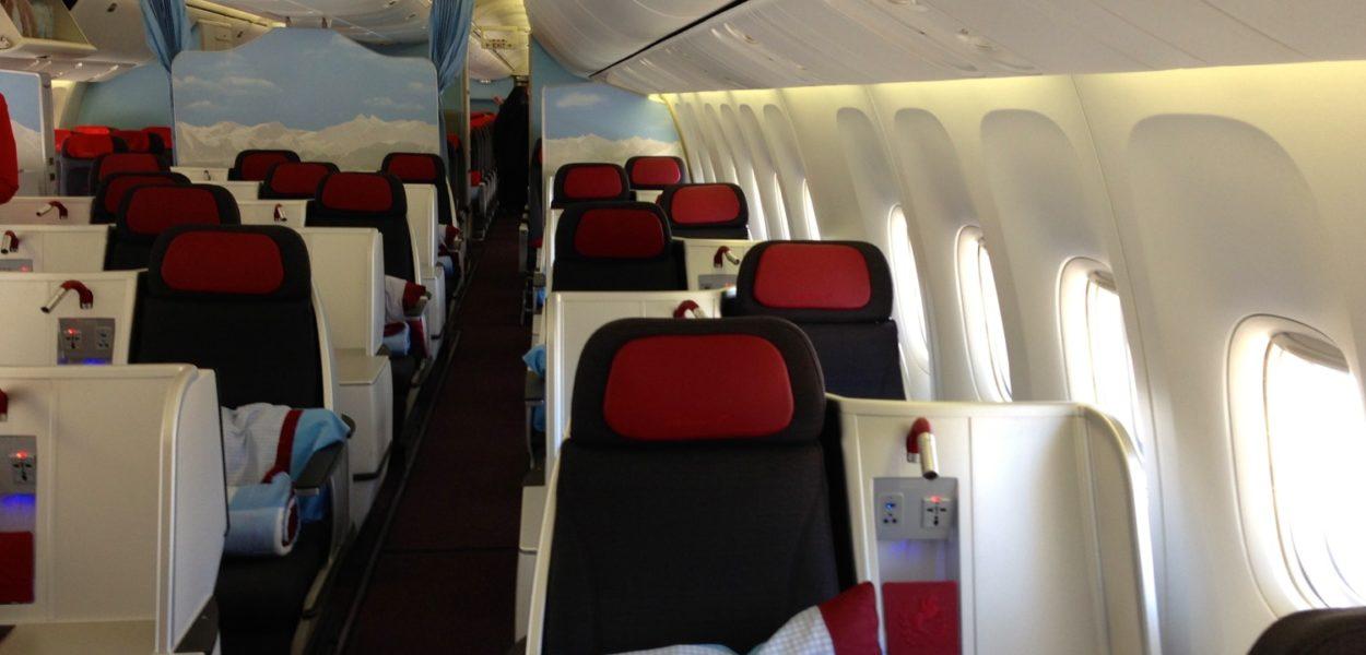 Austrian Business Class Langstrecke – 1