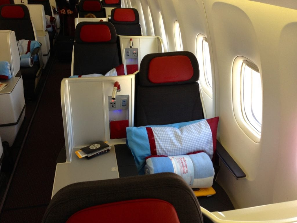 Austrian Business Class Langstrecke – 2