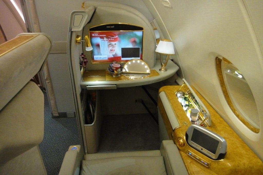 Emirates First Class Sitz – 1