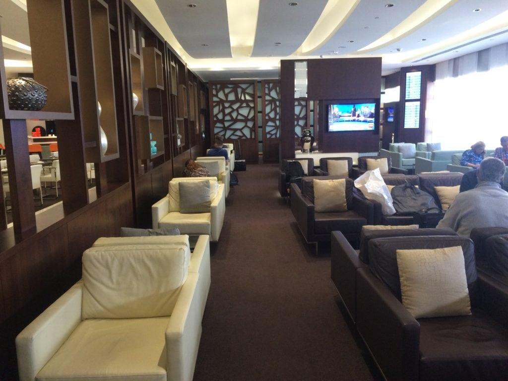 Etihad Premium Lounge Abu Dhabi Guest Gold