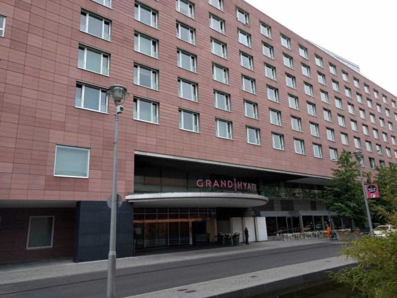 Grand Hyatt Berlin Haupteingang