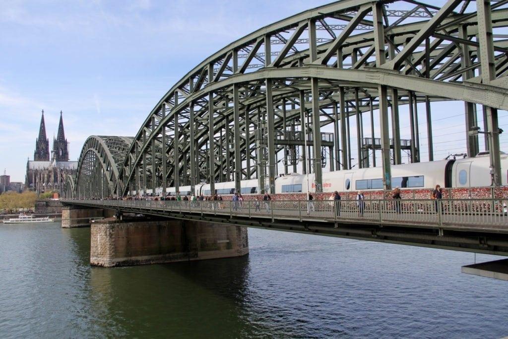BahnCard 100 Fahrt Köln