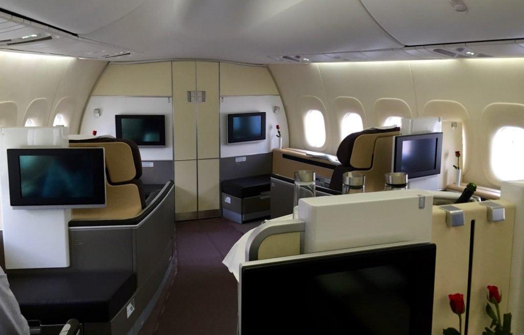 Lufthansa First Class Kabine – 1