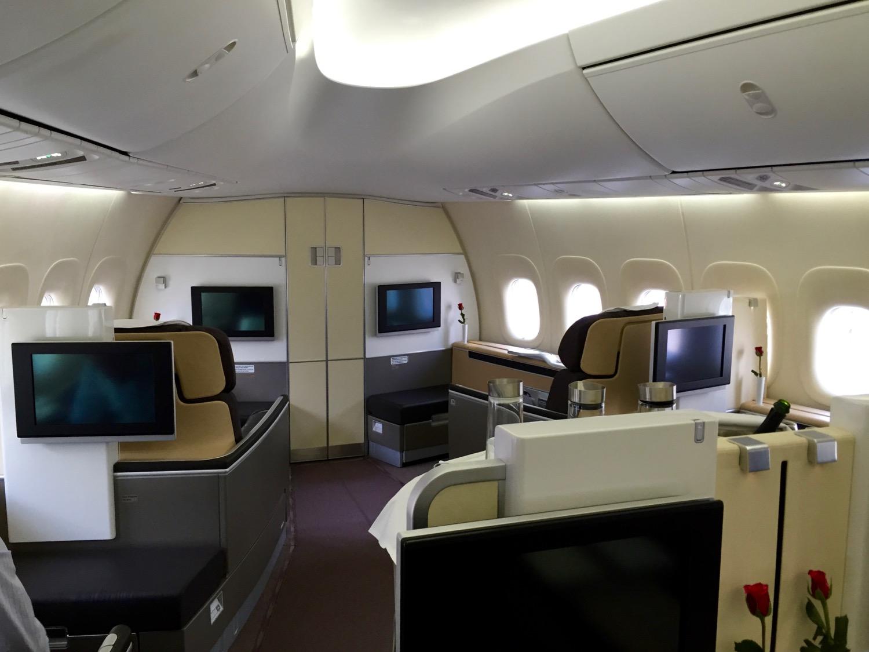 Lufthansa First Class Kabine - 1
