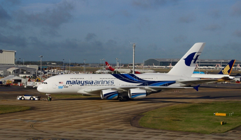 Malaysian A380 - 1