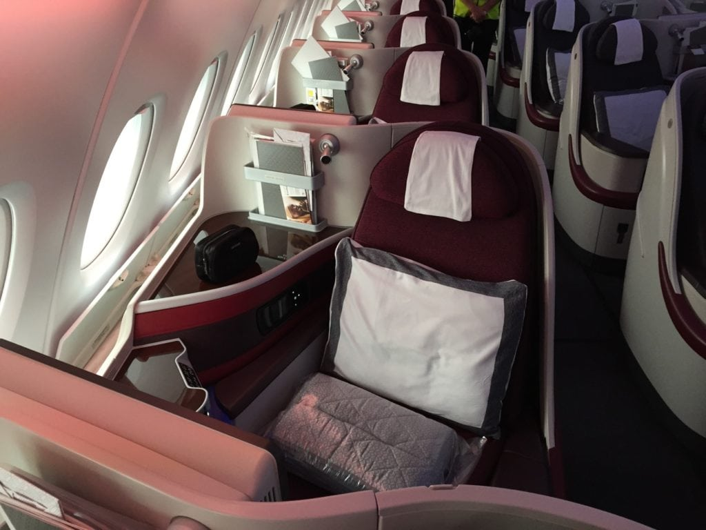 Qatar Airways A380 Business – 1