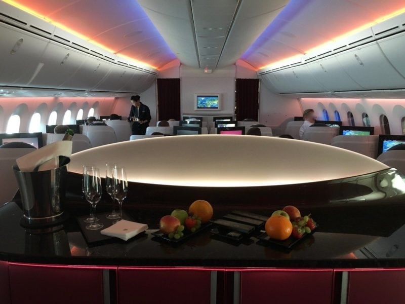 Qatar Airways B787 Business – 1