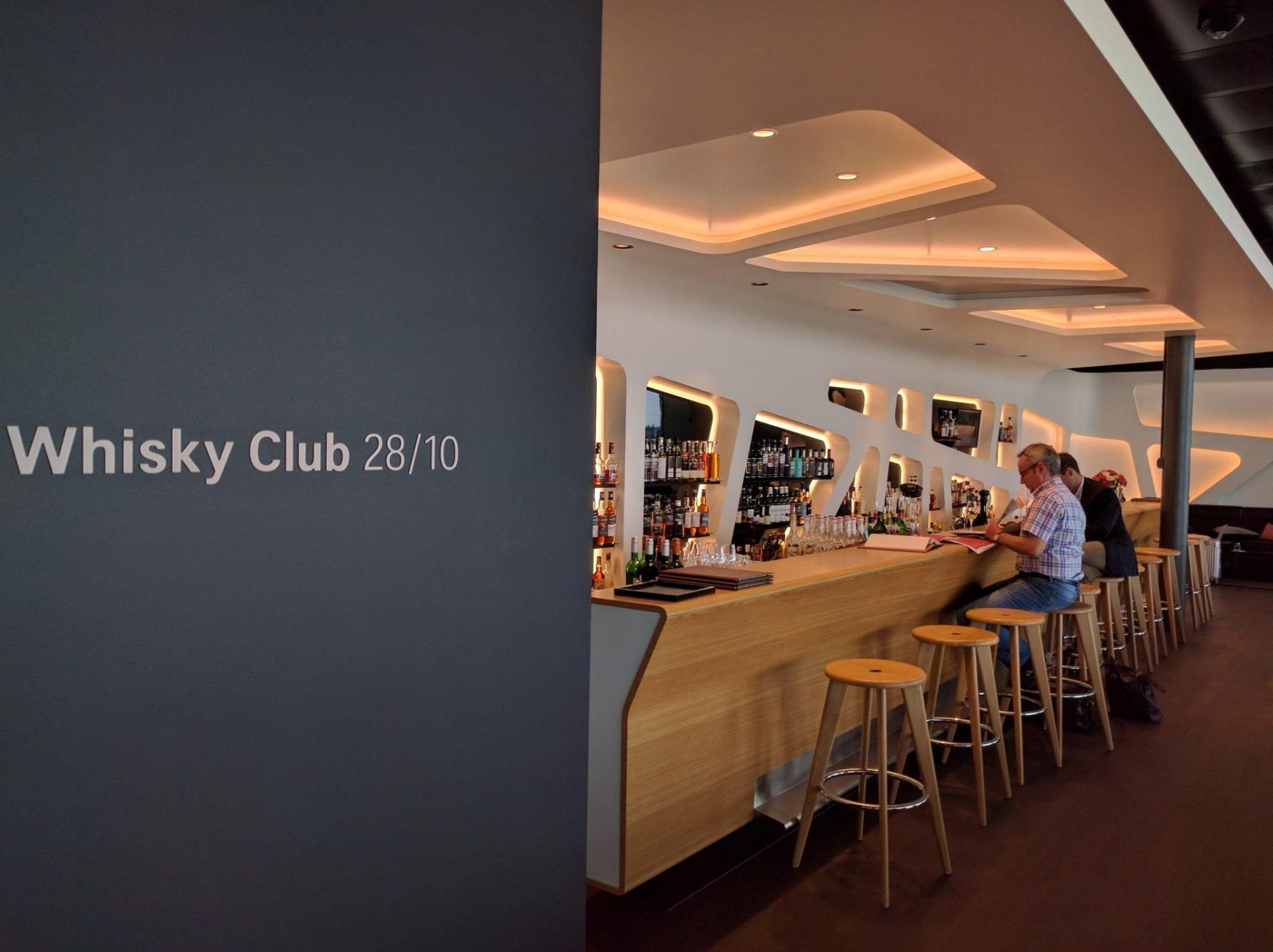 Swiss Senator Lounge Zürich E Whisky Club