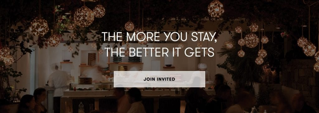 INVITED (Small Luxury Hotels)