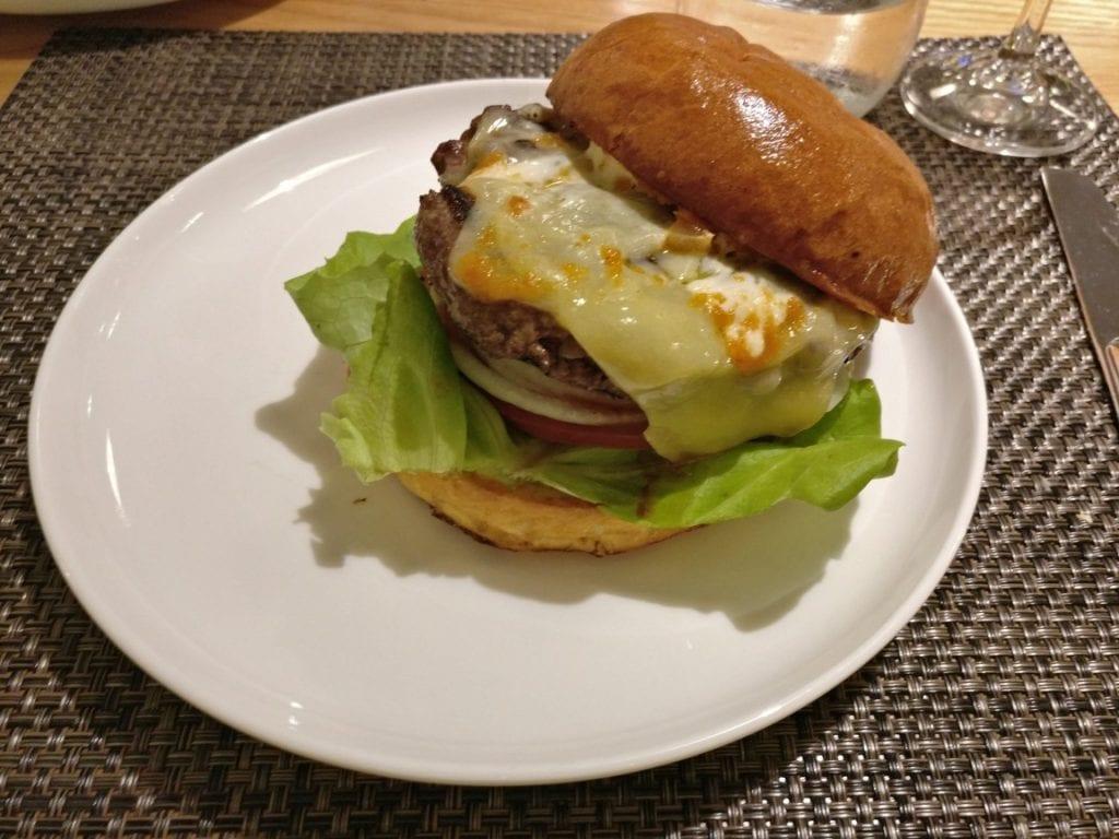 Qantas First Class Lounge Dinner 2