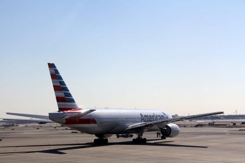 American Airlines Boeing 777 200