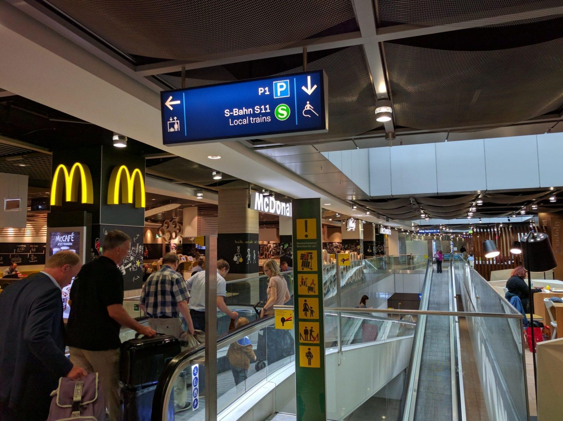 Düsseldorf Airport Guide S11