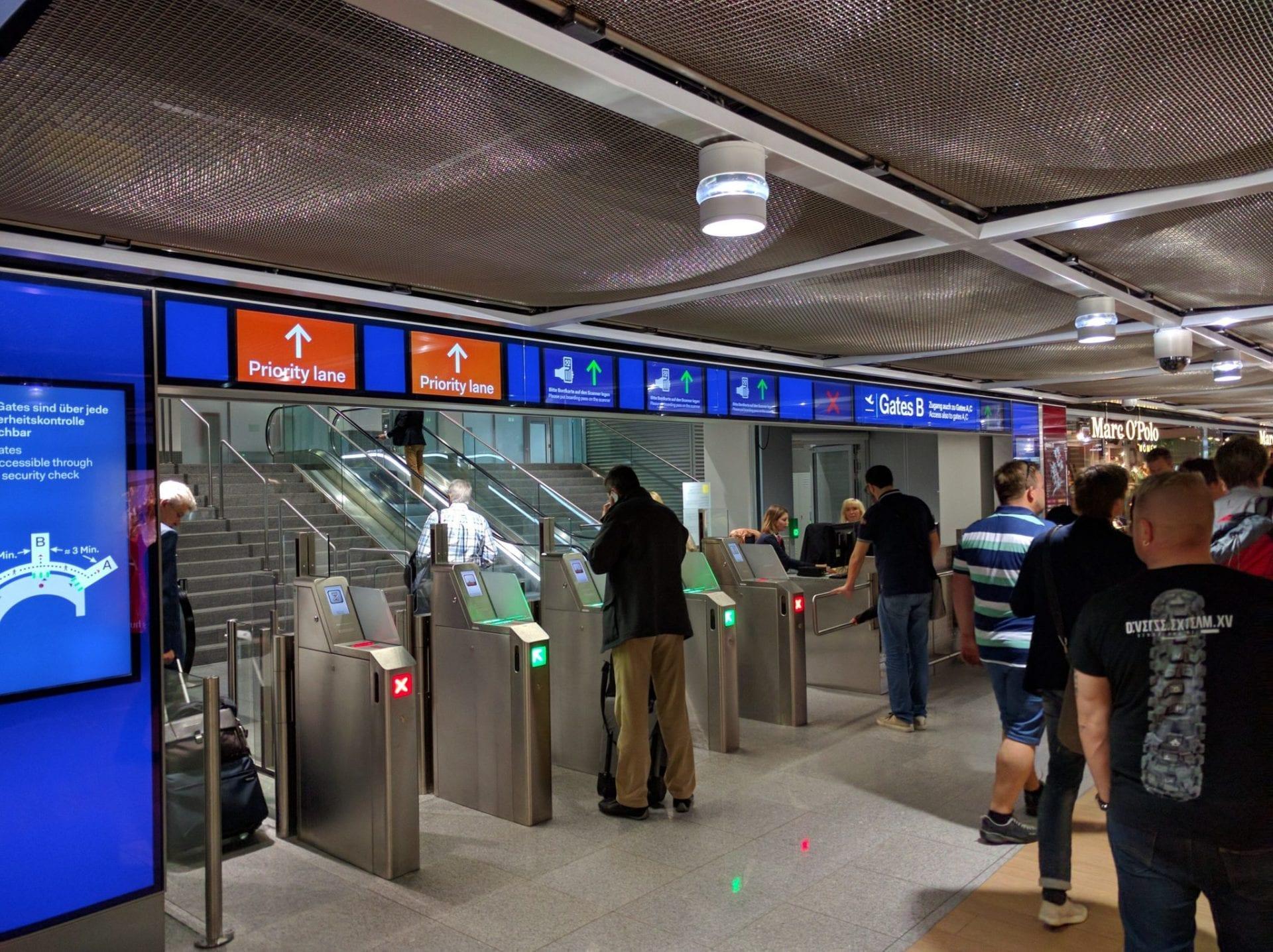 Düsseldorf Airport Guide Siko B
