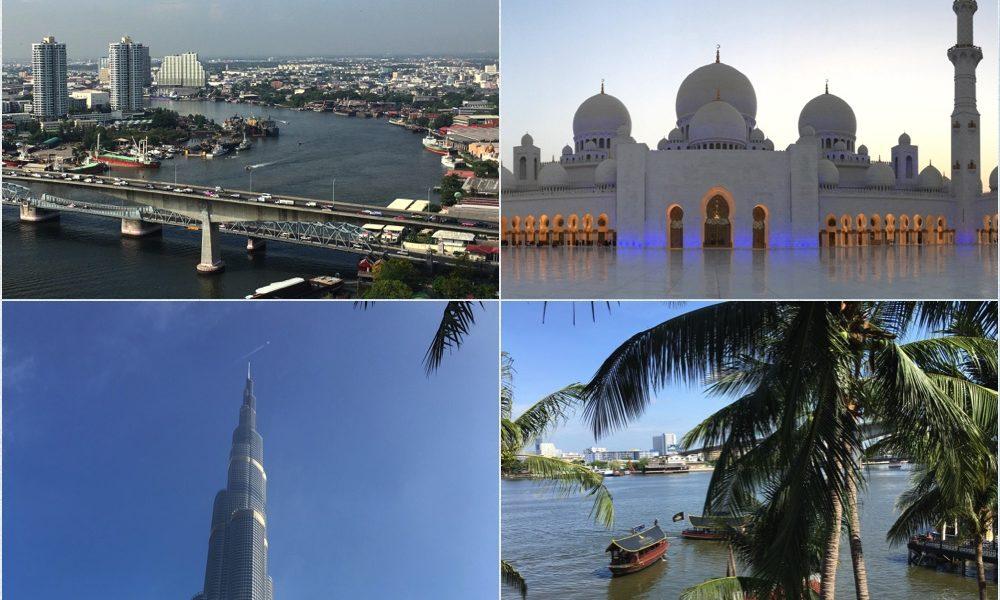 Dubai AUH BKK
