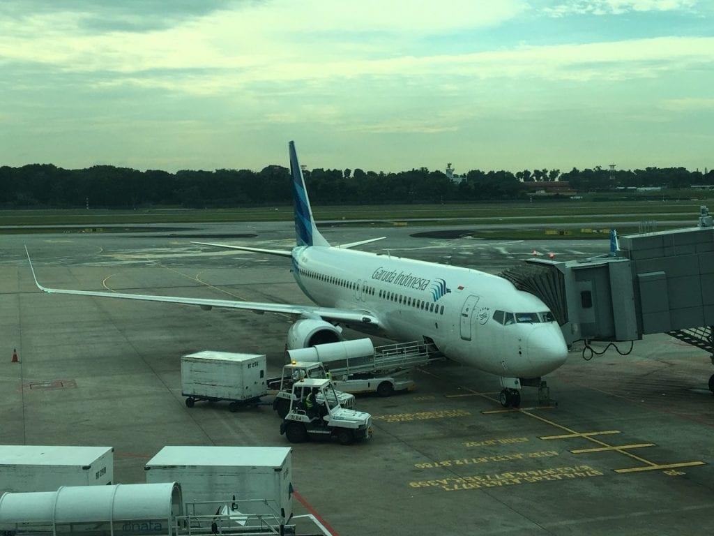 Garuda Indonesia 737