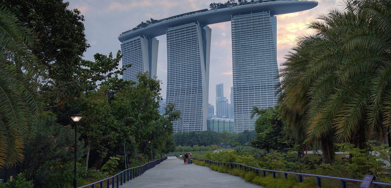 Singapur Marina Bay Sands / Gardens Of The Bay