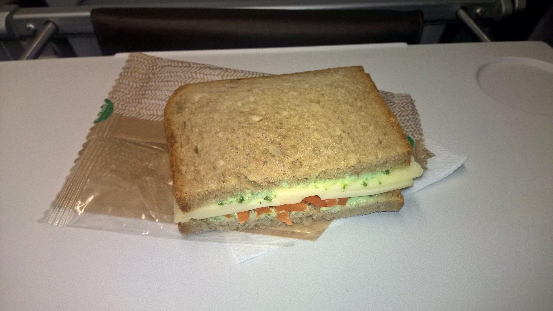 Lufthansa Sandwich