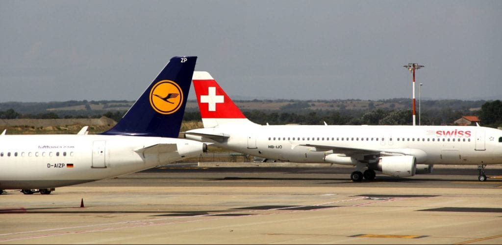 Swiss and Lufthansa