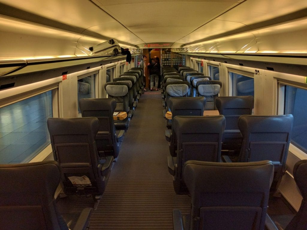 Deutsche Bahn Erste Klasse
