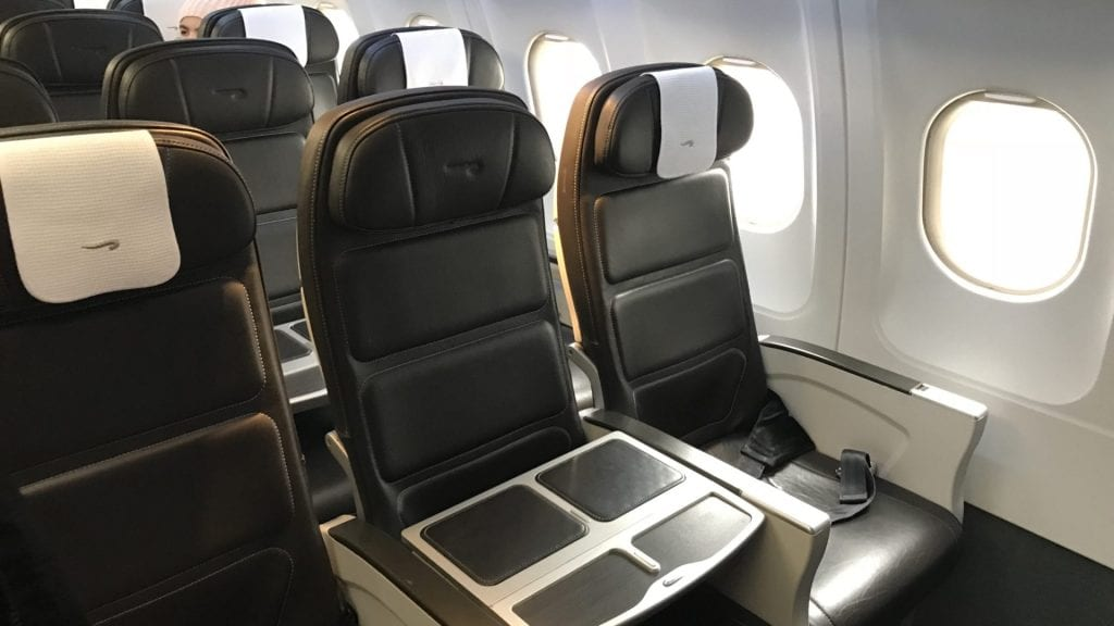 british airways business class a320