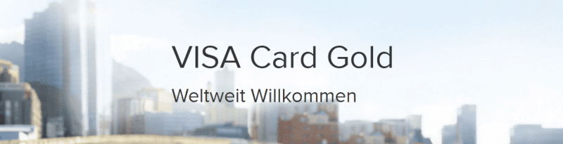Consors Visa Card Gold